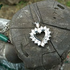 Jewelry - Sterling Silver Heart Pendant